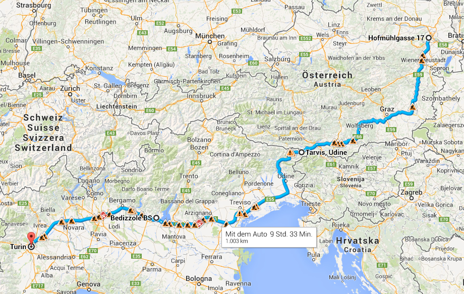 Route Italia